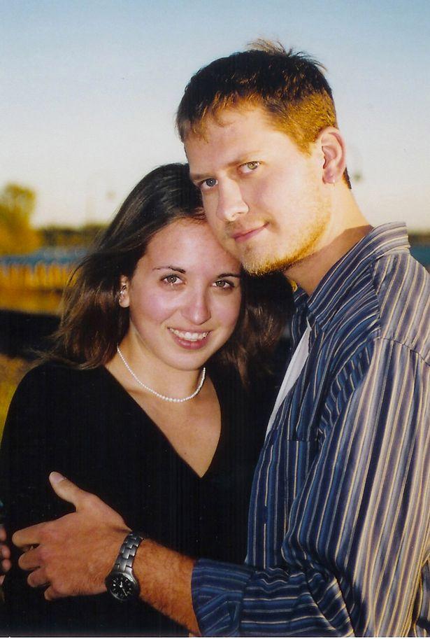 Casal Jenni e Sean antes da transição | Foto Reprodução/arquivo pessoal