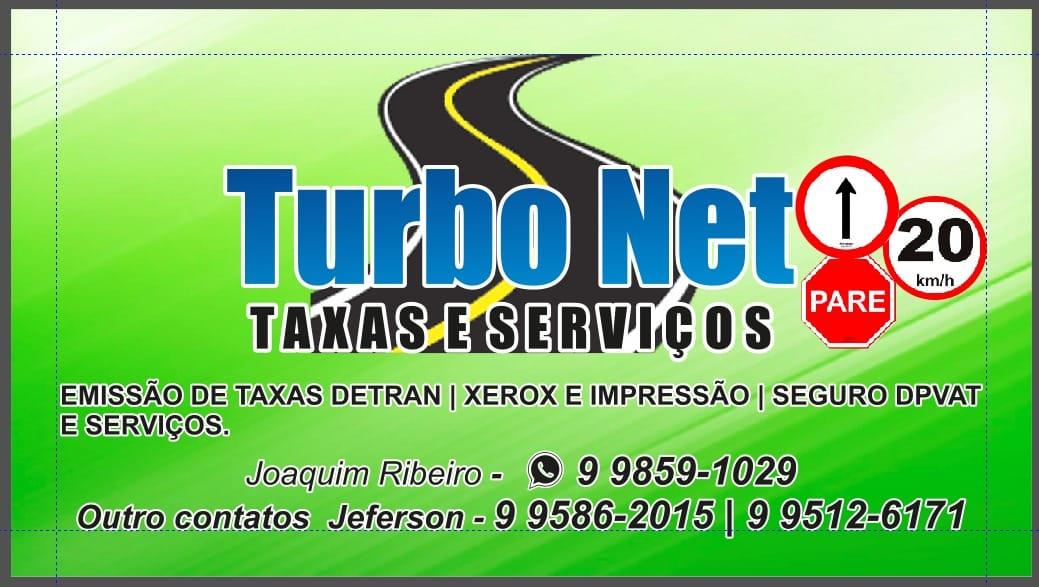 Taxas e serviços Turbo Net em Parnaíba