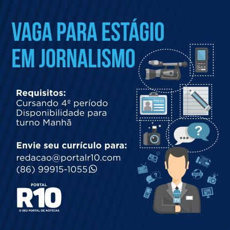 Vaga para Jornalismo - Maranhão R10