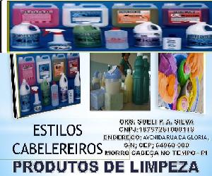 ESTILUS CABELEIREROS E PRODUTOS DE LIMPEZA