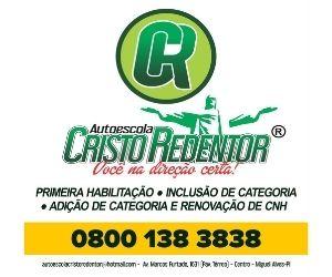 Auto Escola Cristo Redentor (Miguel Alves)