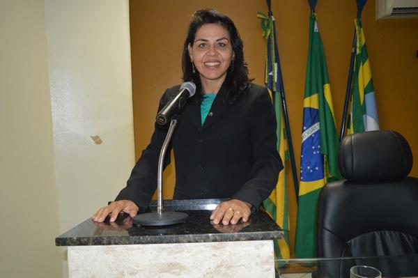 Vereadora Surama Martins - DEM, destacou preocupação da população com qualidade da água em Guadalupe