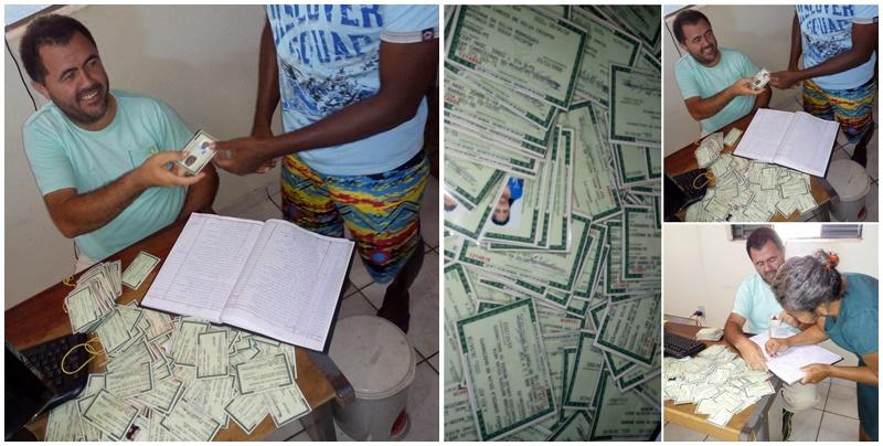 Junta do Serviço Militar de Cabeceiras entrega 500 novos documentos de identidade para população