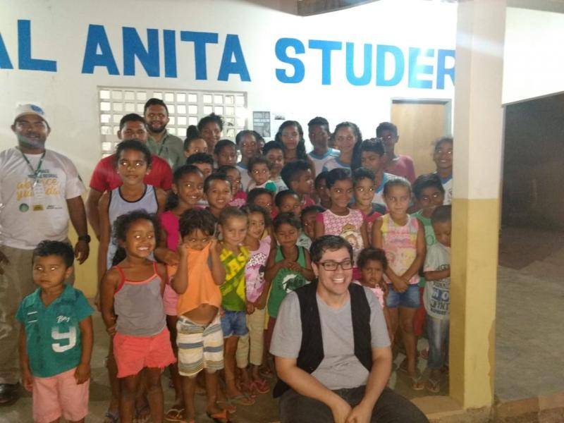 Grupo SLC realiza Ação Social na Escola Municipal Anita Studer na localidade Sete Lagoas