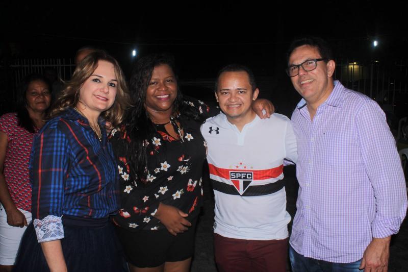 Deputado Zé Santana participa de Festa Junina da SASC