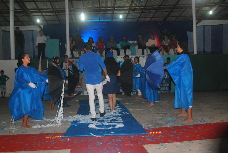 Alunos da rede municipal de Santana do Maranhão realizam V Conferência pelo Meio Ambiente