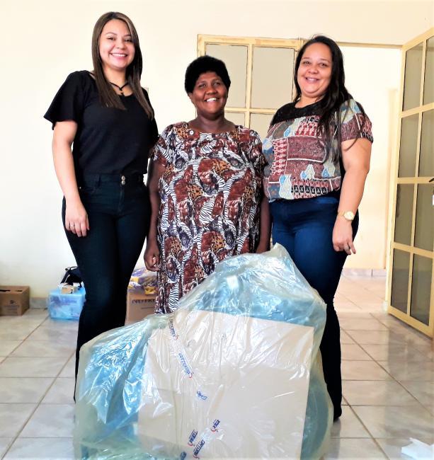 Secretaria de Saúde Faz Mais Uma Entrega de Cadeiras de Rodas