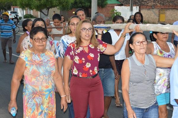 Procissão de Abertura Festejo Bairro Cruzeta