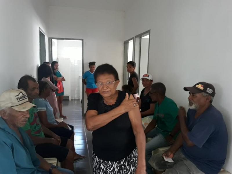 Olho D'água do Piauí atinge meta na campanha da influenza
