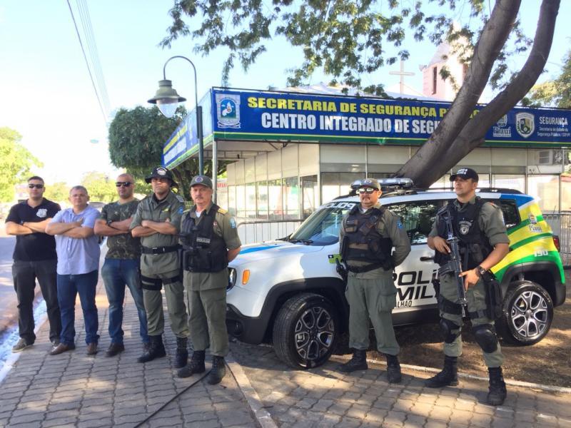 Centro Integrado de Segurança começa a funcionar no Saci