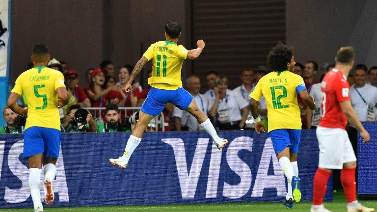 Brasil empata com a Suíça na estreia da Copa do Mundo na Rússia