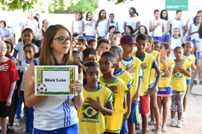 Escola Municipal Antônio Nivaldo realiza I Intercolegial