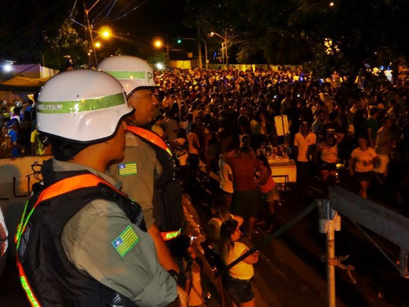 Polícia não registra ocorrência durante jogo do Brasil em Teresina