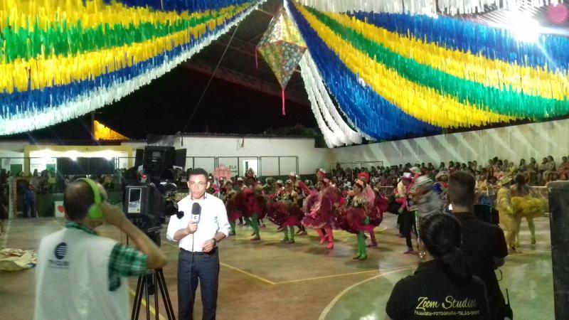 Demerval Lobão | imagens da segunda noite dos folguedos e abertura do circuito da FEPIQ