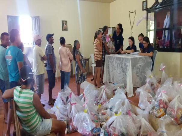 Prefeitura de Oeiras dá continuidade à distribuição de cestas básicas