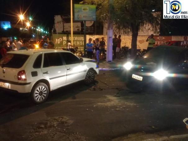 Acidente de trânsito no centro de Oeiras deixa ferido o ex-prefeito de Colônia do Piauí