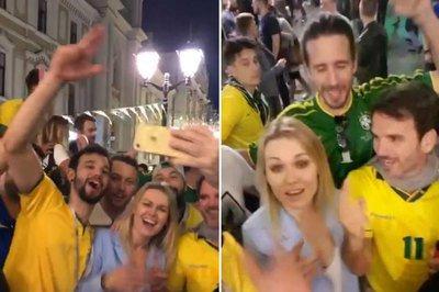 Torcedores brasileiros fazem país passar vergonha na Rússia