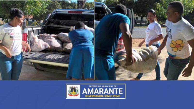 Prefeitura Municipal de Amarante entrega 750 Kg de peixes em Comunidades