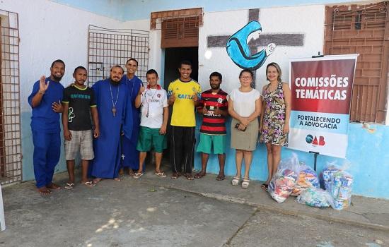 Entidades recebem donativos arrecadados pela OAB-PI