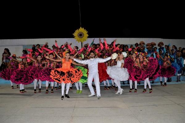 Quadrilha Junina Lumiar Barrodurense encanta no VI FestQuadrilhas Barro Duro