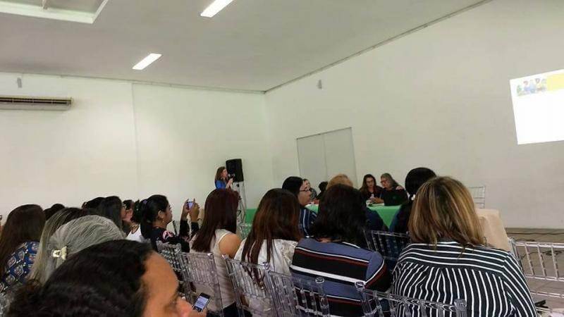 Nazária participa do I Encontro Estadual Intersetorial do Programa Criança Feliz