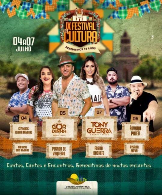 IX Festival da Cultura de Beneditinos no Piaui