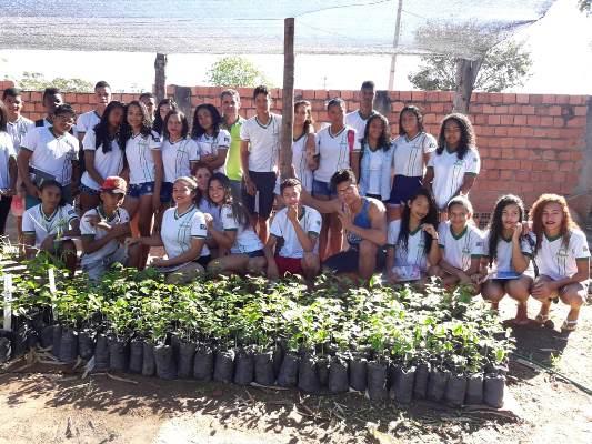 Trabalho da ONG Despertar Rio Gurgueia atrai alunos das escolas municipais