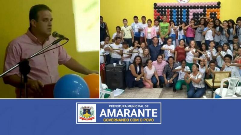 Prefeitura Municipal de Amarante lança Criação do Núcleo da Cidadania dos adolescentes