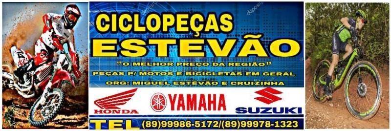 Ciclo peças Estevão dispõe de mais de (500) itens para vc que é mecânico ou proprietário de veículo