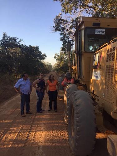 Prefeitura de Guadalupe continua recuperando estradas da zona rural