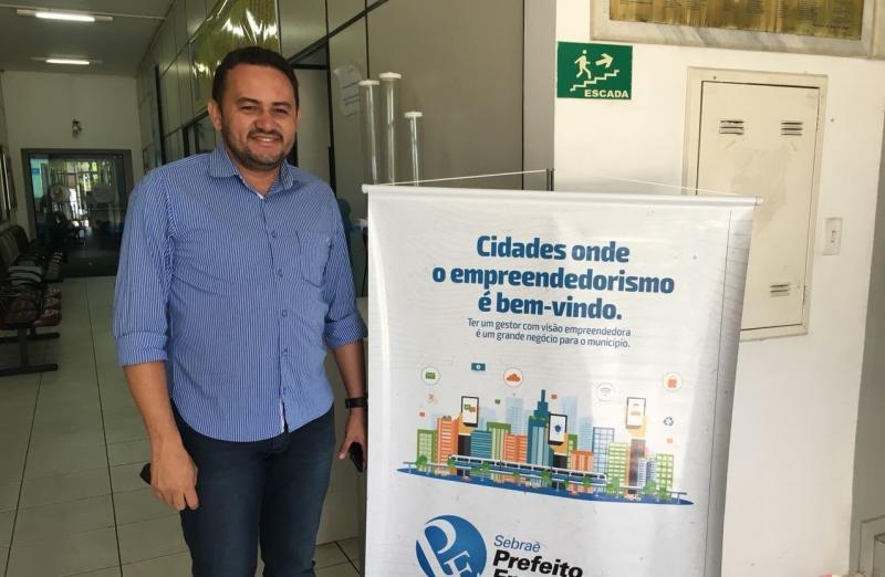 Prefeito Gilson Nunes participa do lançamento do Diário Oficial na APPM
