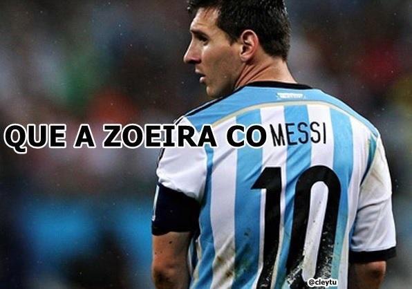 Argentina perde para Croácia e memes com Messi viralizam