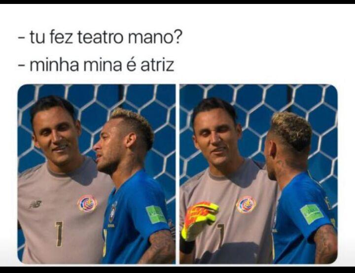 Neymar rende os melhores memes da Copa; veja alguns