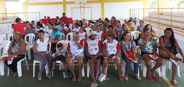 Secretaria de Saúde e o NASF realizam campanha Junho Laranja e Vermelho