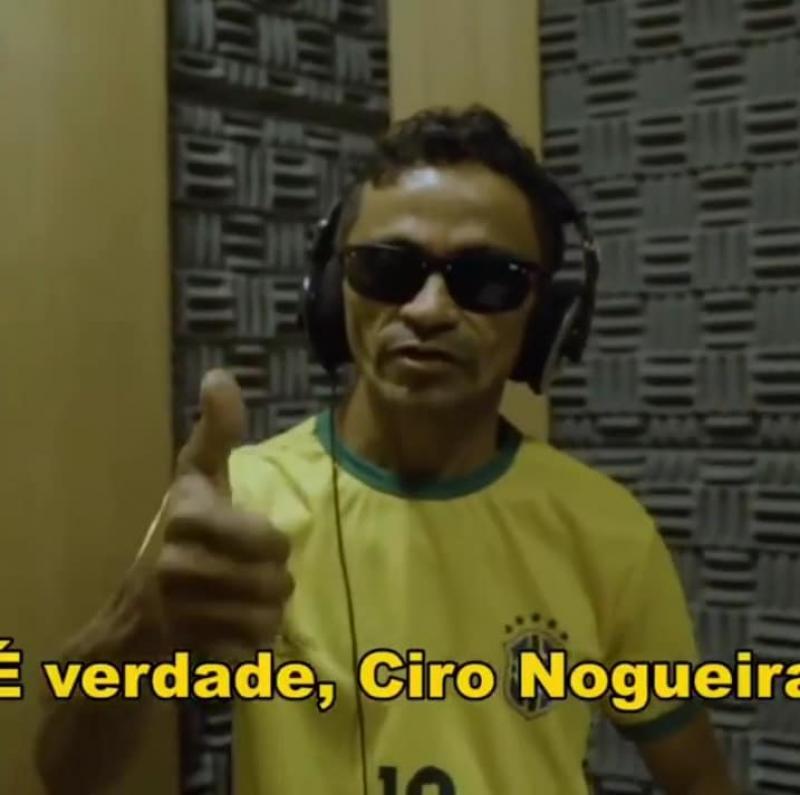 Copa do mundo | desafio proposto à Gleyfy Brauly pelo senador Ciro Nogueira é sucesso absoluto