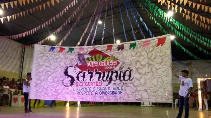 Quadrilha Sarrupiá do Sertão dá Show no II Festival Junino em Amarante; veja
