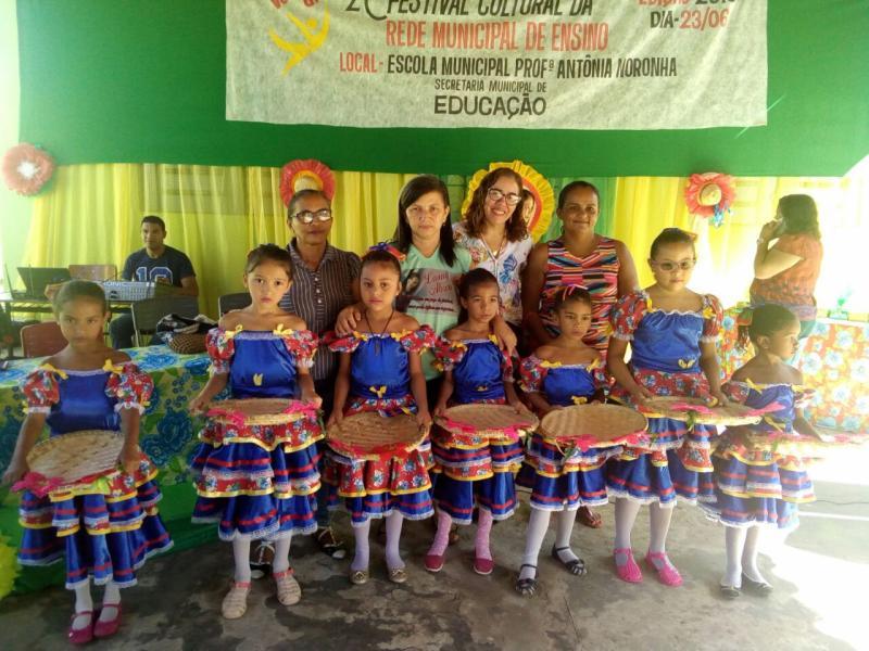 2º Festival Cultural das escolas da rede municipal de ensino de Monsenhor Gil