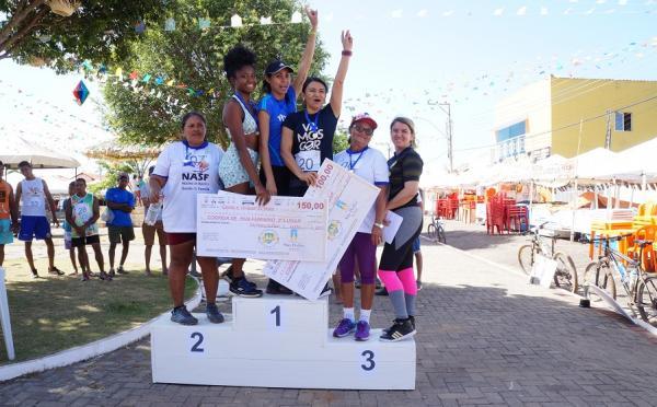 Festejo I Jornada Esportiva leva para as ruas atletas amadores disputando diversas modalidades mascu