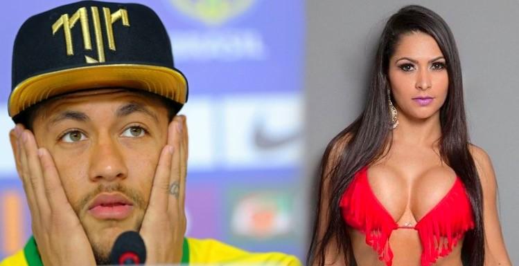 Miss Bumbum revela que ficou com Neymar e foi apresentada para a família