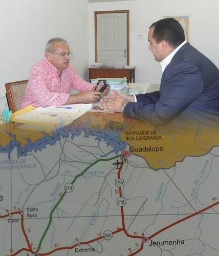 Deputado Estadual Georgiano Neto volta a cobrar recuperação da Estrada Guadalupe a Jerumenha