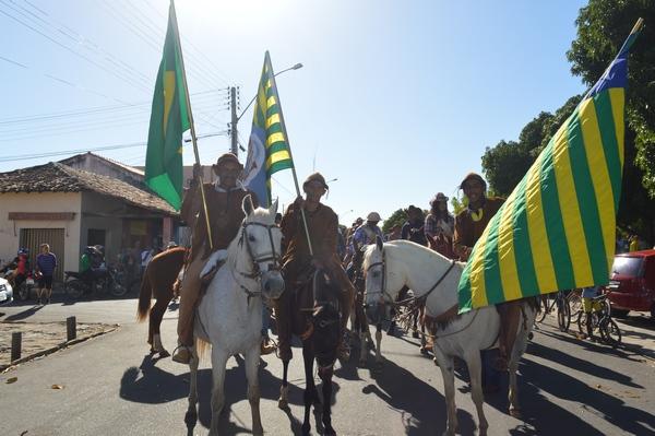 Vaqueiros realizam mais uma grande cavalgada em comemoração ao seu dia em Guadalupe