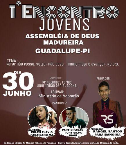 Encontro de Jovens Assembleia de Deus Madureira