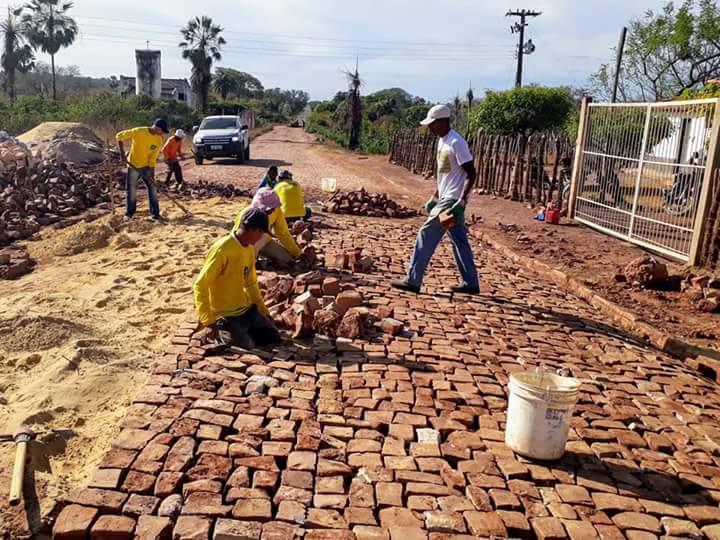 Obras de mobilidade alcançam zona rural de Floriano