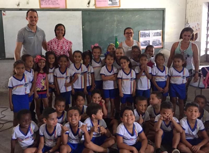 NASF visita  turmas do Ensino Infantil em Francisco Ayres