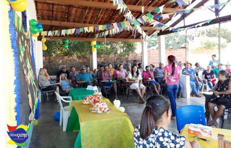 Cristino Castro: Secretaria de Saúde  realizou o Arraiá do Hiperdia na UBS do Bairro Mutirão
