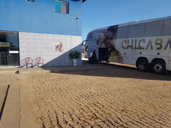 Banda Chicabana já se encontra em Guadalupe para abertura do 2º Cidade Junina