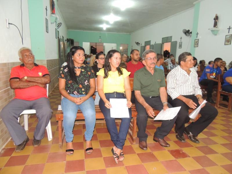Missa em ação de Graças pela posse da  nova diretoria do STTR de Campo Largo-PI
