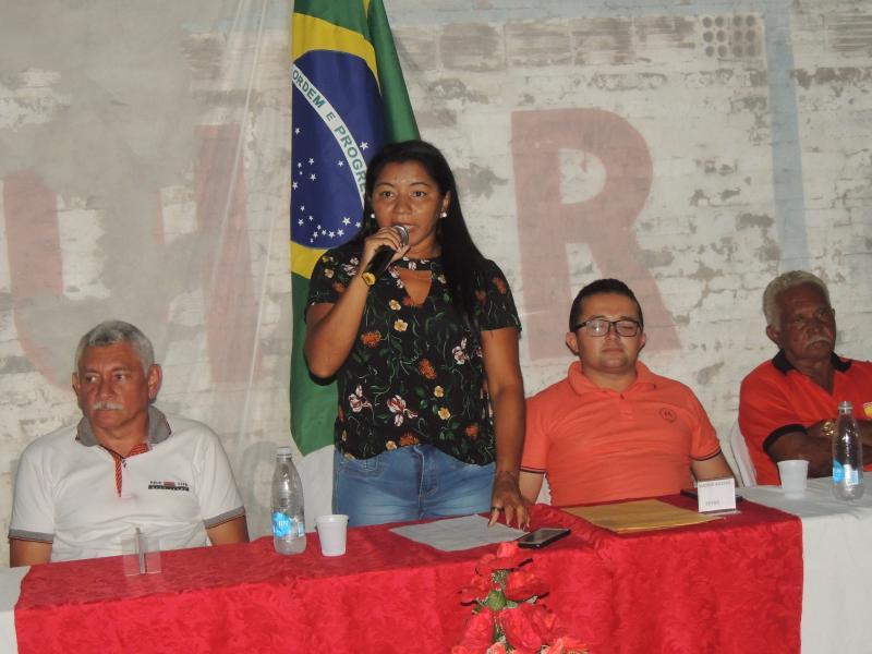 Solenidade de posse da nova diretoria do STTR de Campo Largo do Piauí-PI