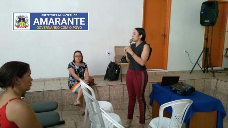 Prefeitura de Amarante realiza palestra sobre violência sexual contra crianças e adolescentes