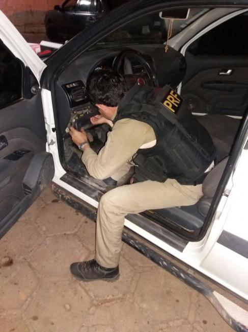 PRF recupera no Piauí veículo roubado no estado do Tocantins